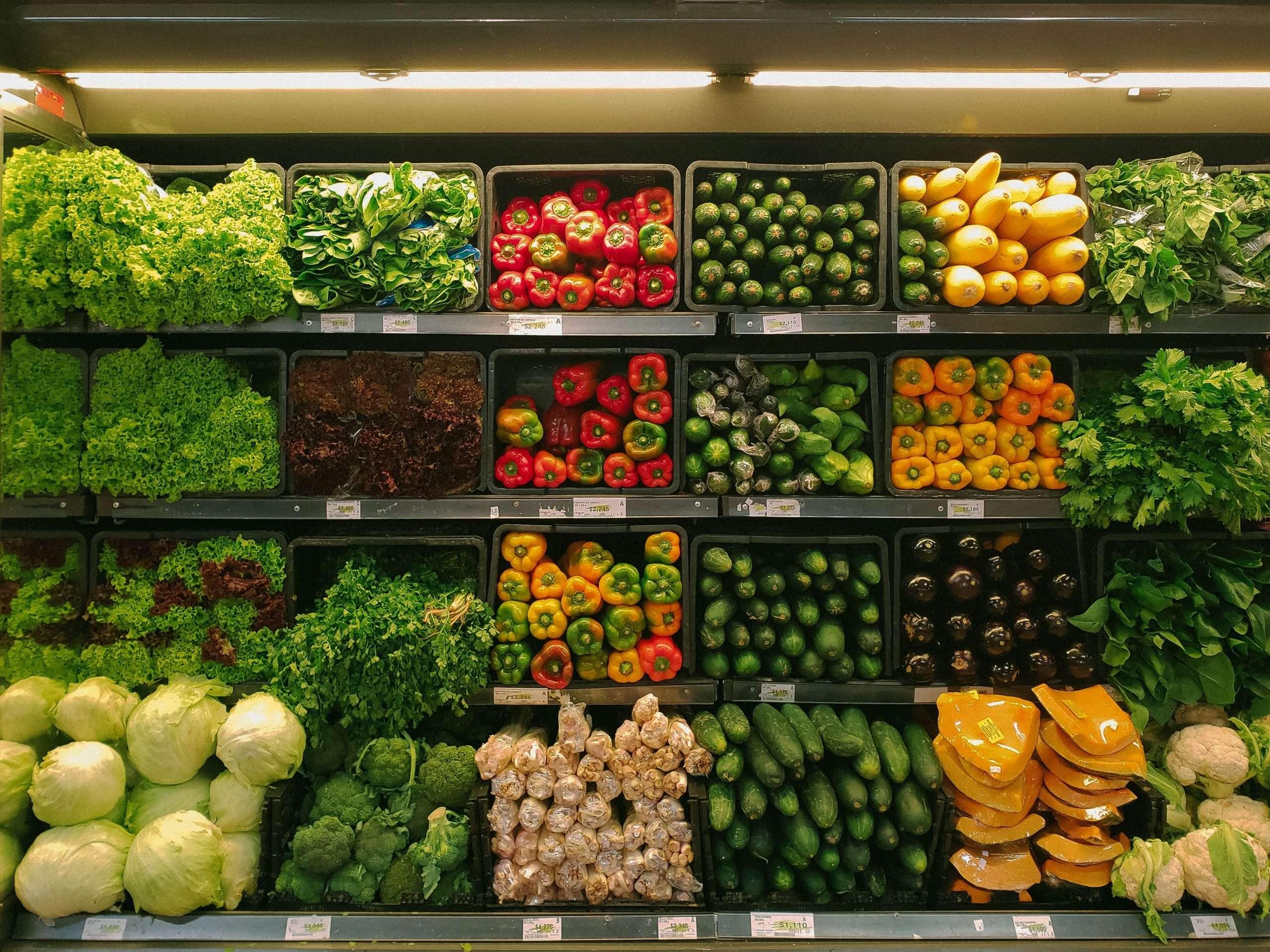 sustainable supermarket