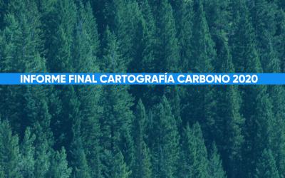 Resultados Finales de nuestro macroestudio Cartografía Carbono 2020