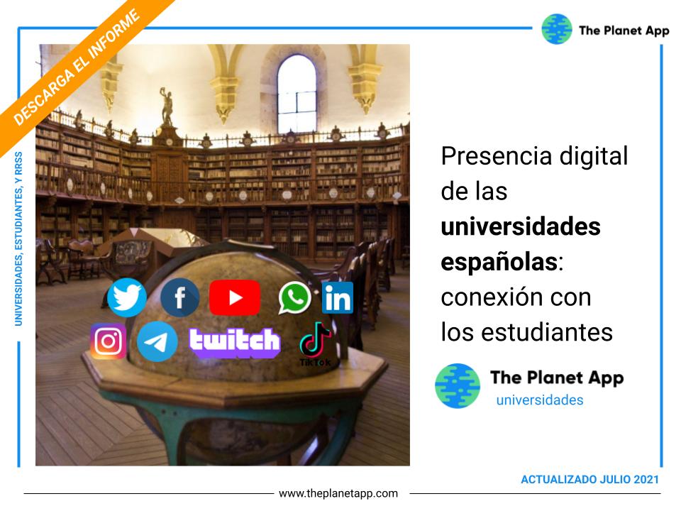 universidades españolas en redes sociales
