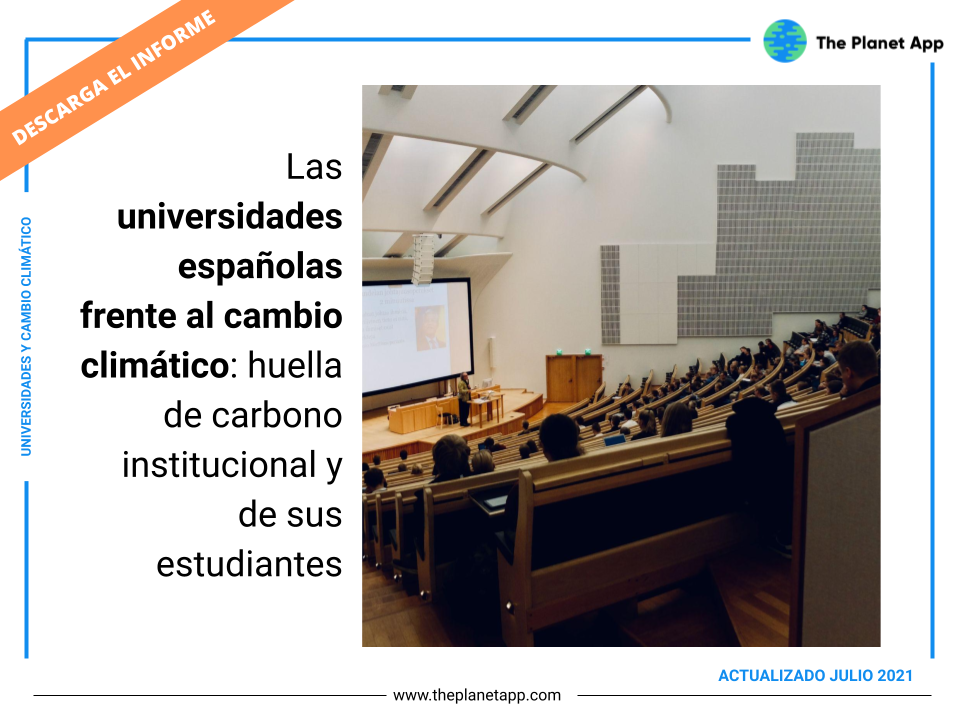 huella carbono universidades españolas